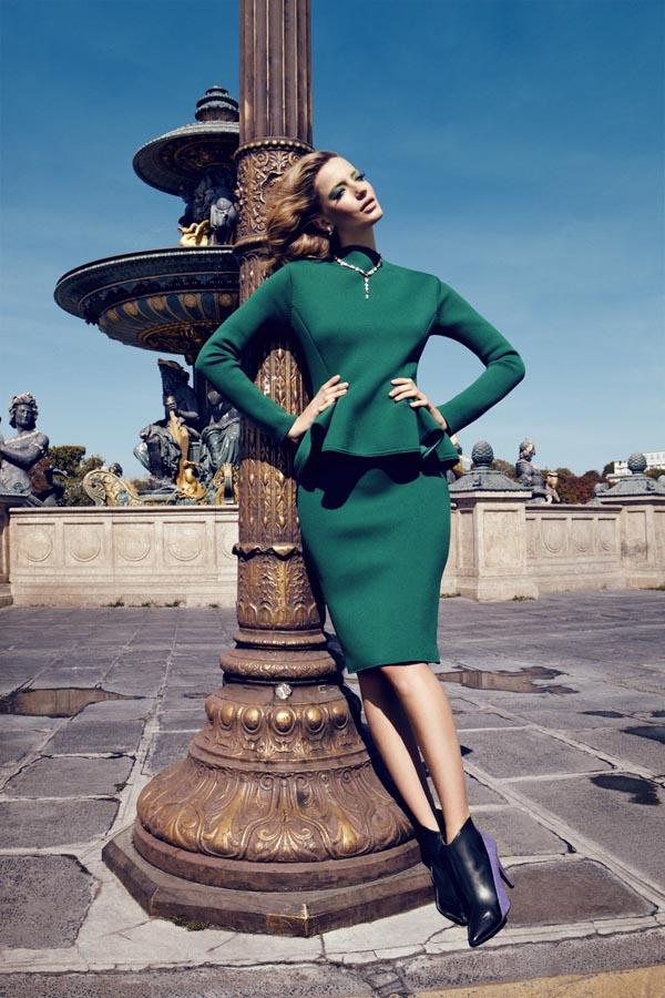 milagros schmoll5 Harpers Bazaar: Romantični Pariz