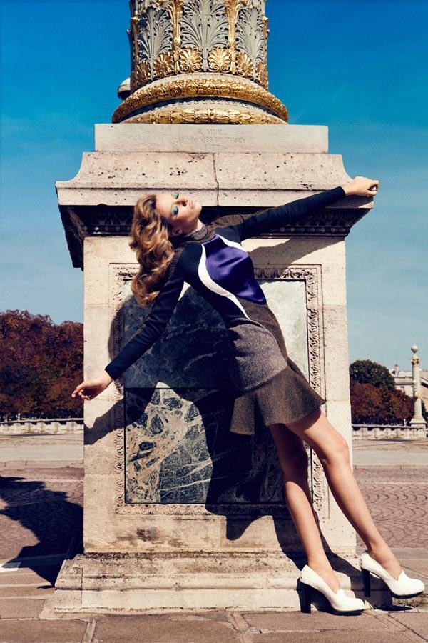 milagros schmoll6 Harpers Bazaar: Romantični Pariz