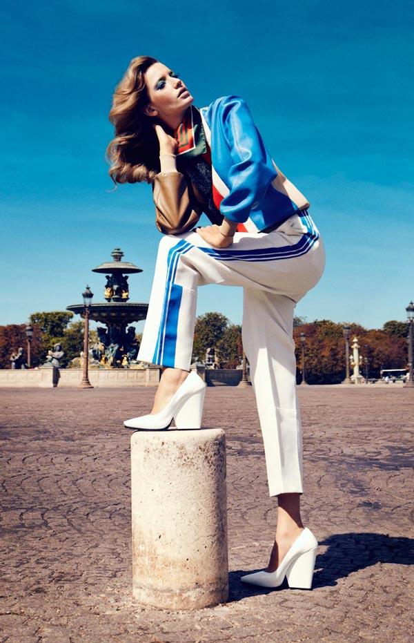 milagros schmoll7 Harpers Bazaar: Romantični Pariz