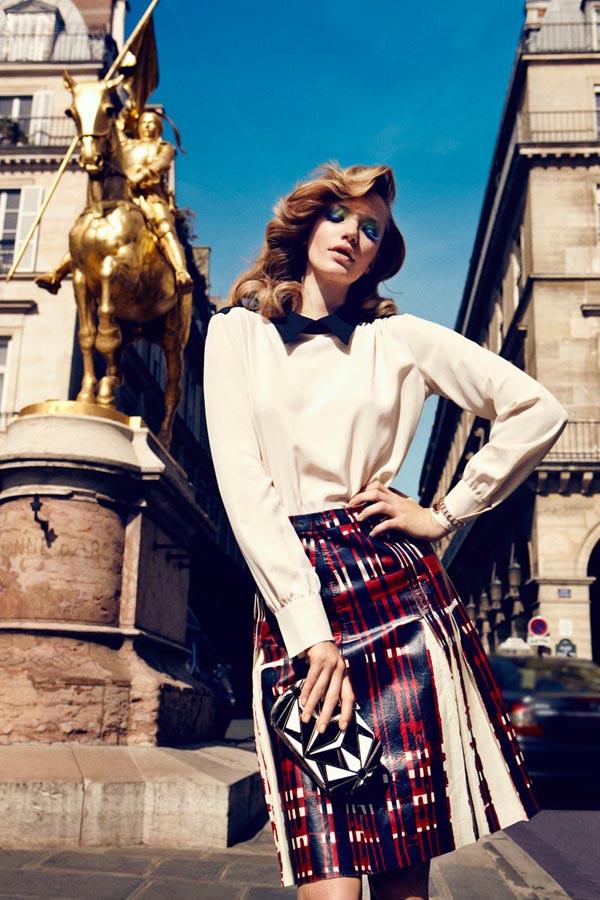 milagros schmoll8 Harpers Bazaar: Romantični Pariz