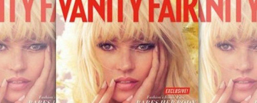 """Modni zalogaj: Kate Moss za """"Vanity Fair"""""""