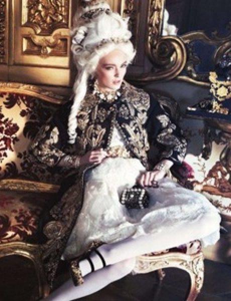 """""""Vogue Japan"""": Rokenrol Marie-Antoinette"""