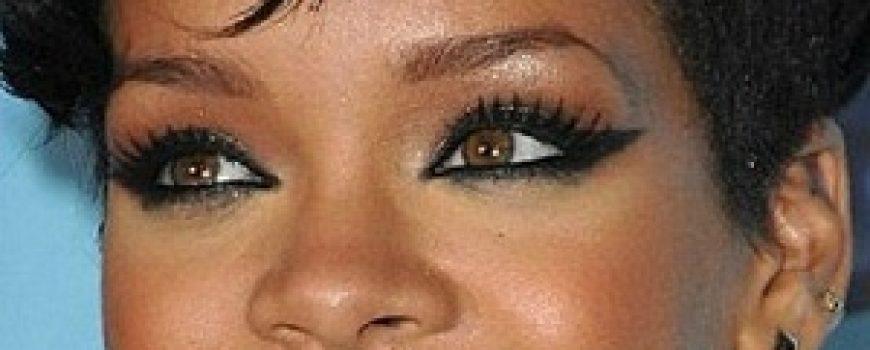 Stil šminkanja: Rihanna