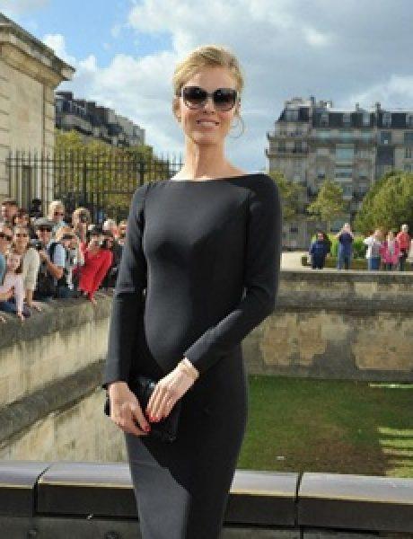 Prvi red na reviji modne kuće Dior