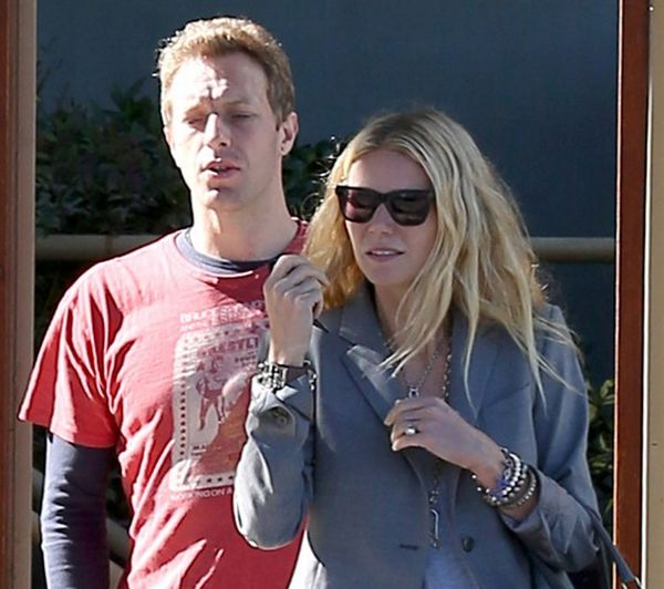 pat Trach Up: Gwyneth Paltrow viđena sa mužem