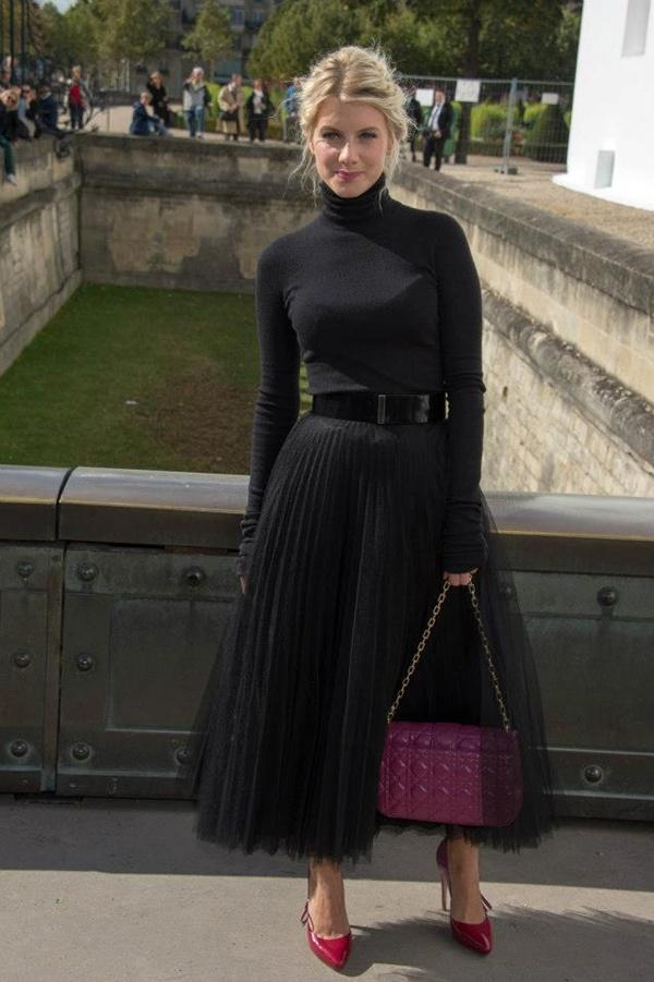 slika 1011 Prvi red na reviji modne kuće Dior