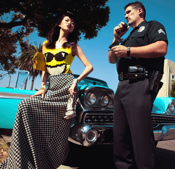 """slika 1025 """"Harper's Bazaar China"""": Od istočne do zapadne obale"""