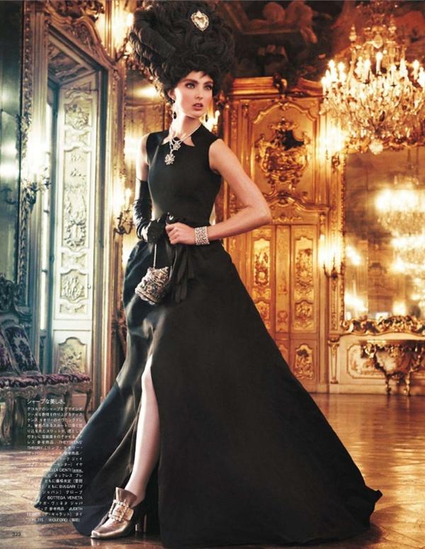 "slika 105 ""Vogue Japan"": Rokenrol Marie Antoinette"