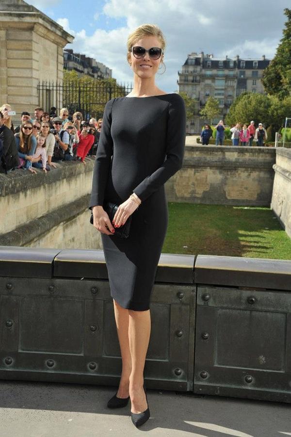 slika 133 Prvi red na reviji modne kuće Dior