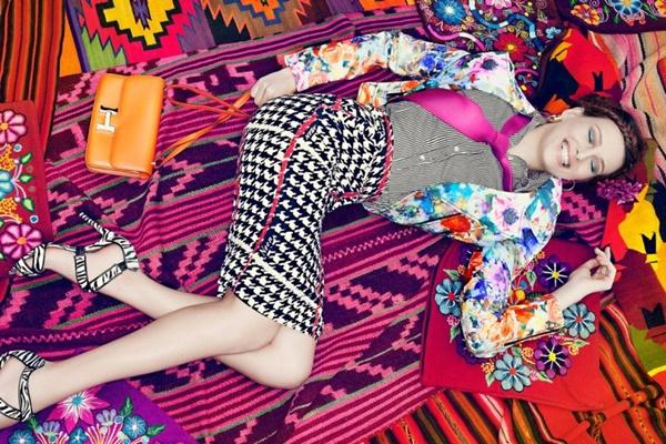 "slika 219 ""Vogue Brazil"": Eksplozija boja"