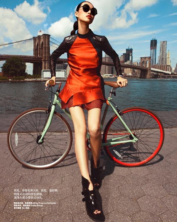 """slika 254 """"Harper's Bazaar China"""": Od istočne do zapadne obale"""