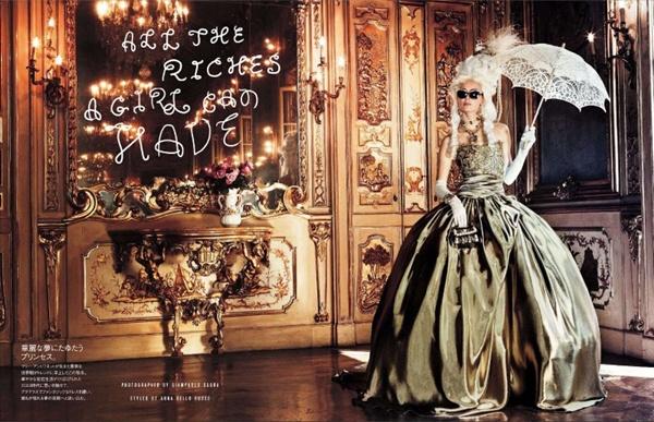 "slika 26 ""Vogue Japan"": Rokenrol Marie Antoinette"