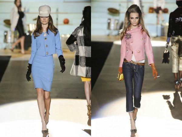 slika 3. Jesen i zima na modnim pistama: DSquared2