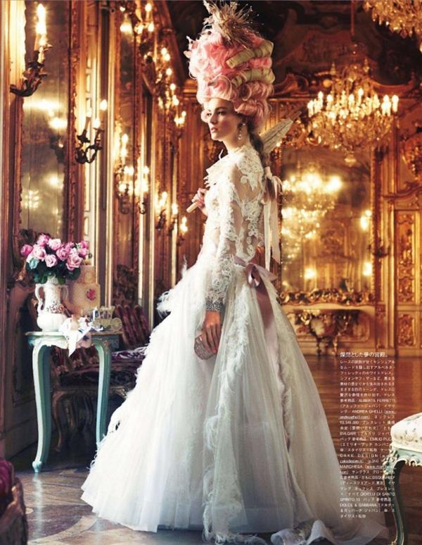 "slika 36 ""Vogue Japan"": Rokenrol Marie Antoinette"