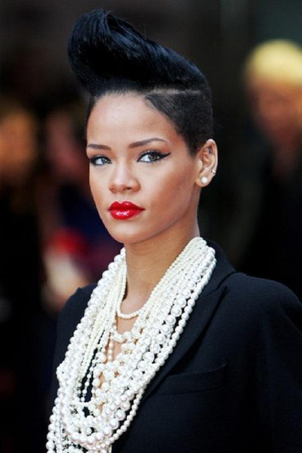 slika 410 Stil šminkanja: Rihanna