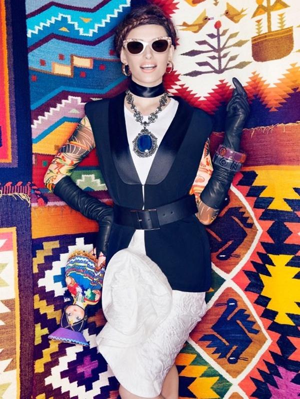 "slika 418 ""Vogue Brazil"": Eksplozija boja"