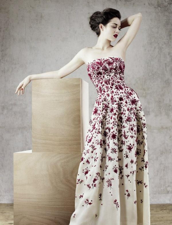 slika 431 Modni zalogaj: Marion Cotillard u remek delima modne kuće Dior