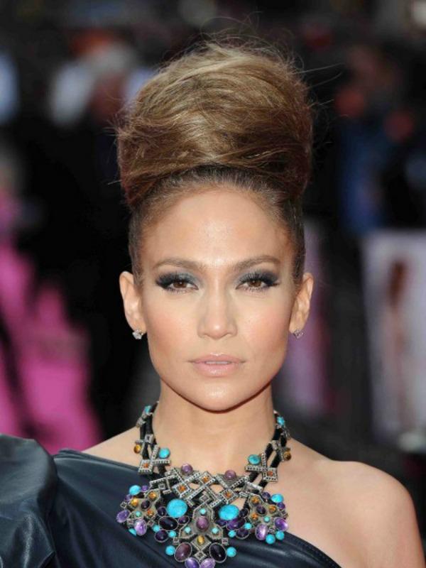 slika 46 Stil šminkanja: Jennifer Lopez
