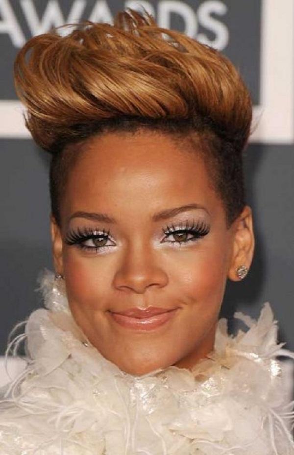 slika 610 Stil šminkanja: Rihanna