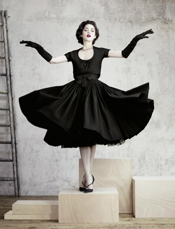 slika 622 Modni zalogaj: Marion Cotillard u remek delima modne kuće Dior