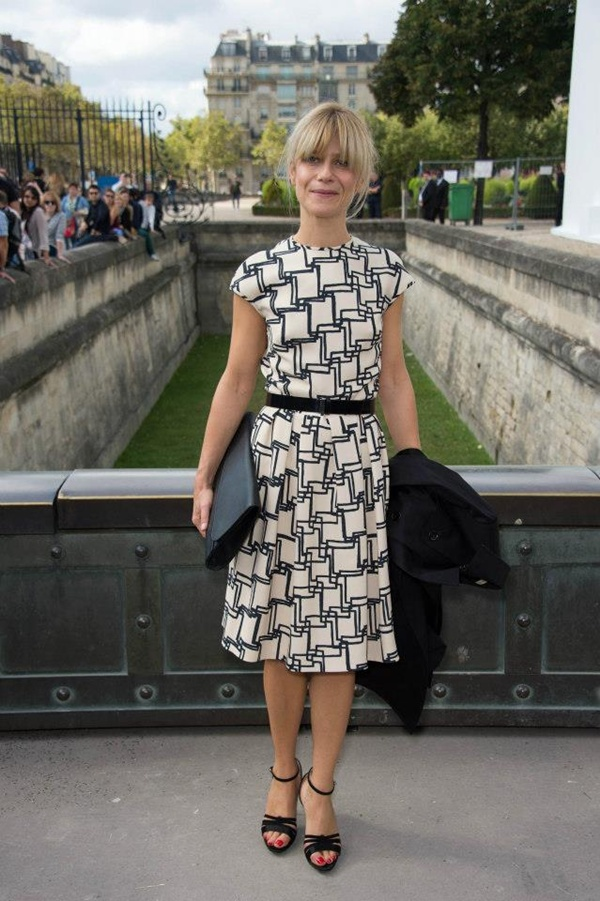slika 814 Prvi red na reviji modne kuće Dior