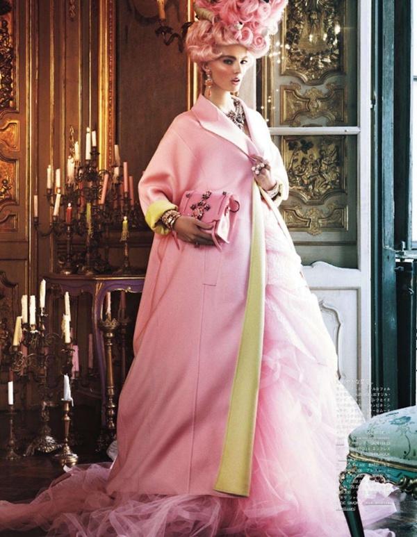 "slika 85 ""Vogue Japan"": Rokenrol Marie Antoinette"