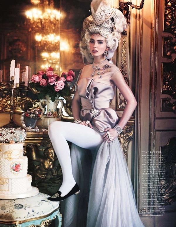 "slika 94 ""Vogue Japan"": Rokenrol Marie Antoinette"