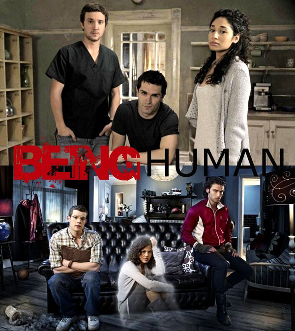 "05 BEING HUMAN US vs UK Serija četvrtkom: ""Being Human"""