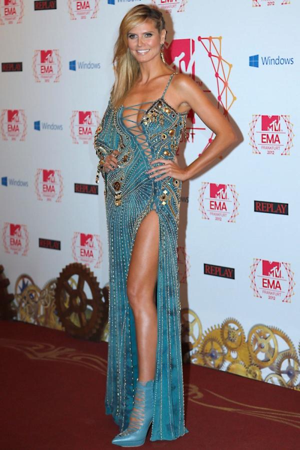 1.8 MTV EMA 2012: Modni izbori Heidi Klum