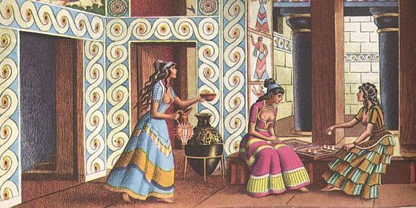 123 Istorija mode: Minojska civilizacija