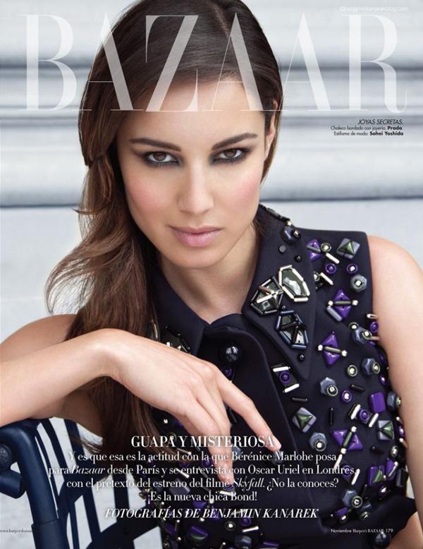 133 Harper's Bazaar Spain: Bondova devojka