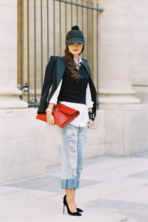 157 Paris Street Style: Jesen koju je obeležila bela boja