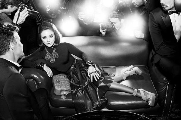 16 Miss Dior Handbags: Mila Kunis u centru pažnje