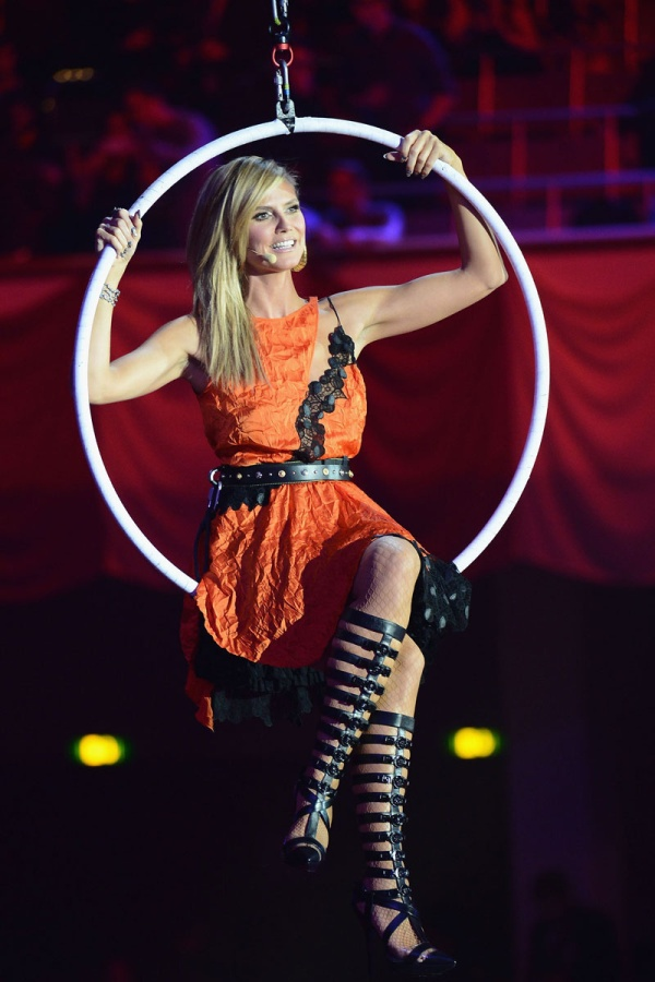 2.7 MTV EMA 2012: Modni izbori Heidi Klum