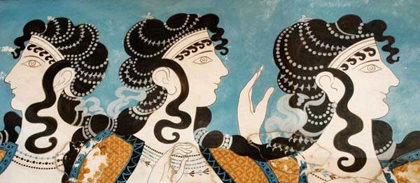 216 Istorija mode: Minojska civilizacija