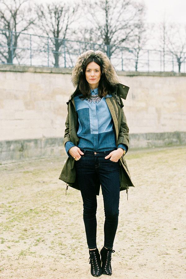 242 Paris Street Style: Jesen koju je obeležila bela boja