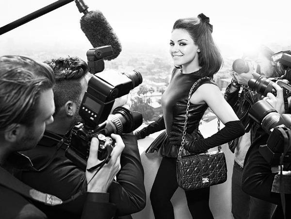 26 Miss Dior Handbags: Mila Kunis u centru pažnje