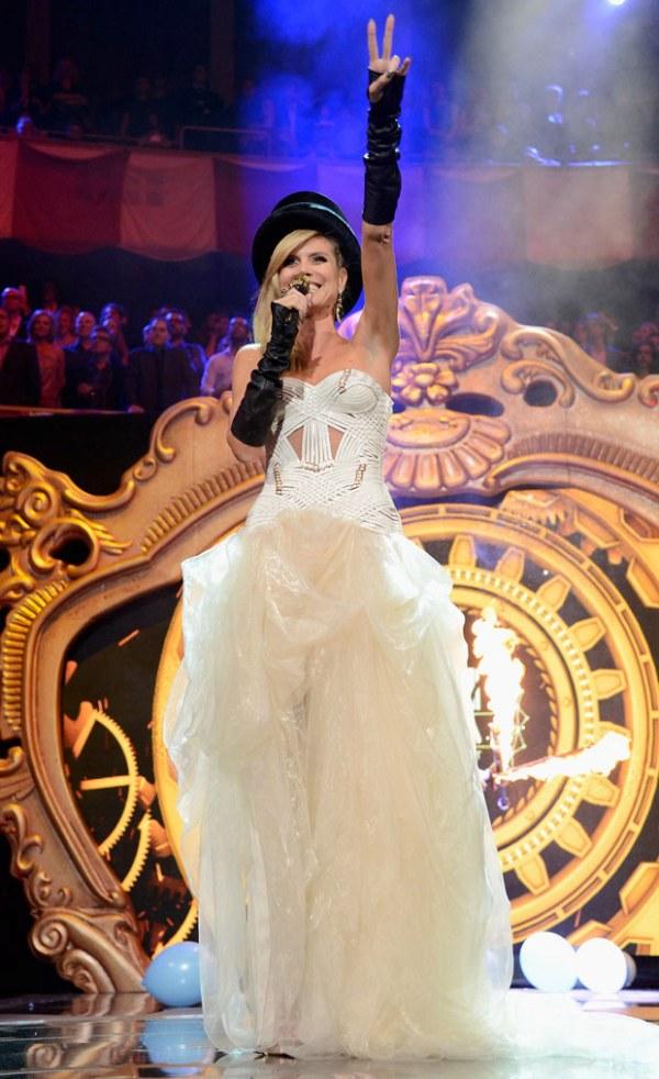 3.7 MTV EMA 2012: Modni izbori Heidi Klum