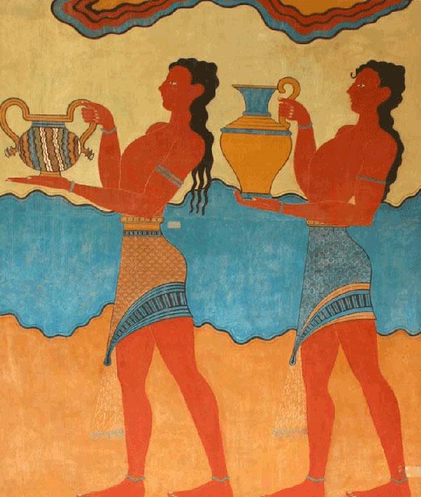 310 Istorija mode: Minojska civilizacija