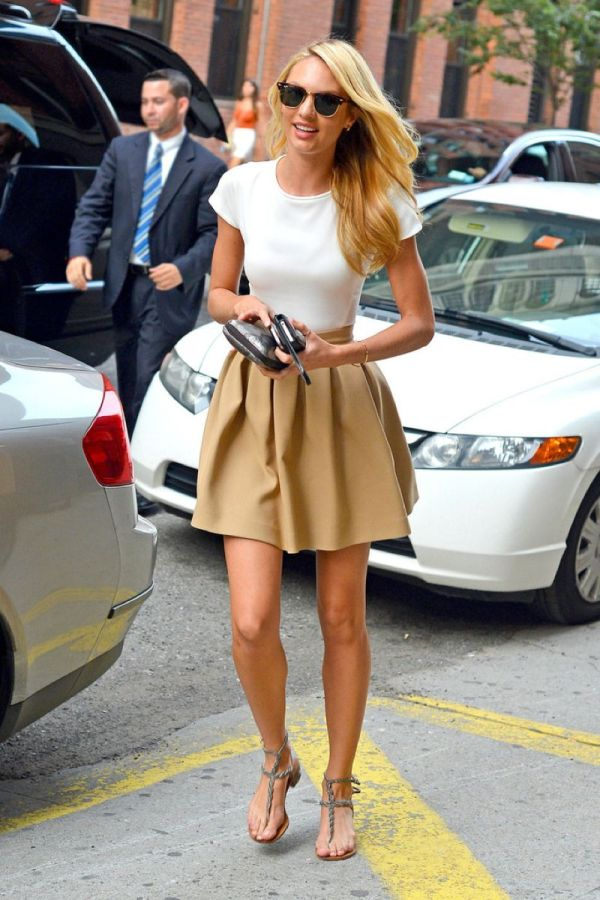 4.12 Street Style: Candice Swanepoel