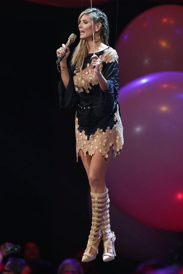 4.5 MTV EMA 2012: Modni izbori Heidi Klum