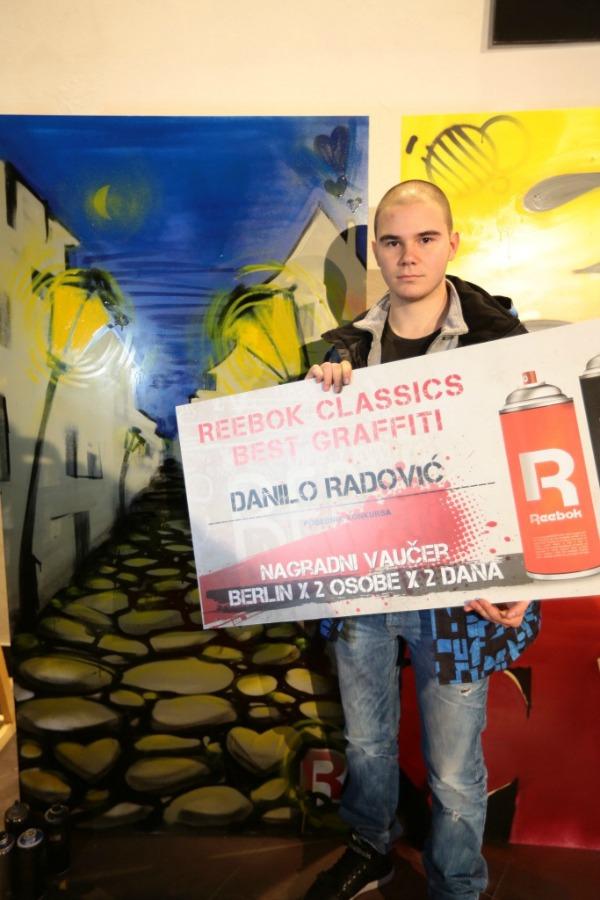 42 Finale konkursa za najbolji grafit: Reebok Classics Best Graffiti