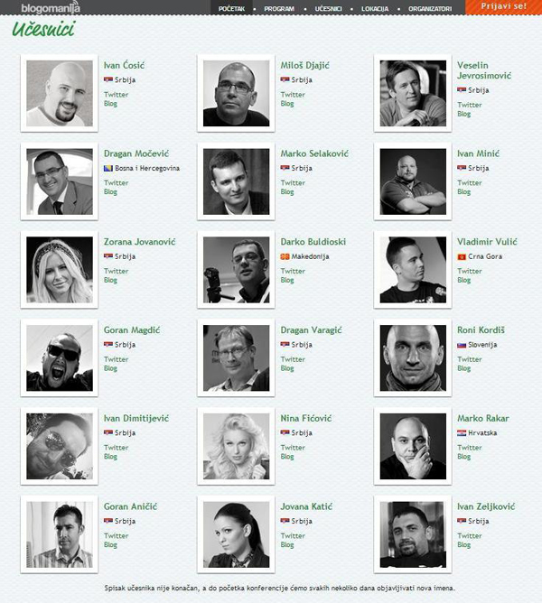 522434 447967121932672 959632852 n Blogomanija: Regionalna konferencija posvećena blogu i blogerima