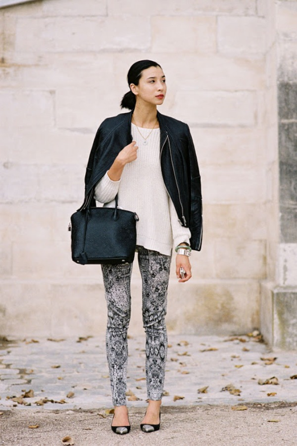526 Paris Street Style: Jesen koju je obeležila bela boja