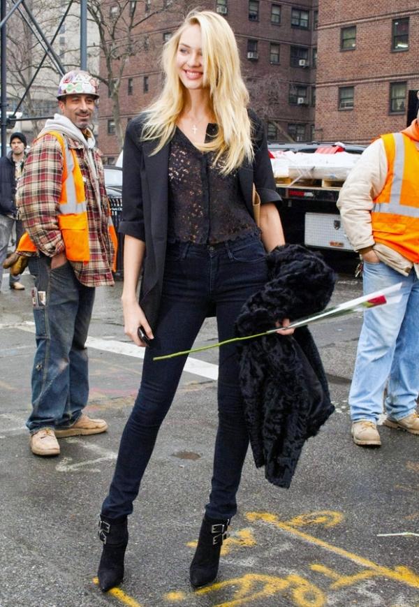 6.13 Street Style: Candice Swanepoel