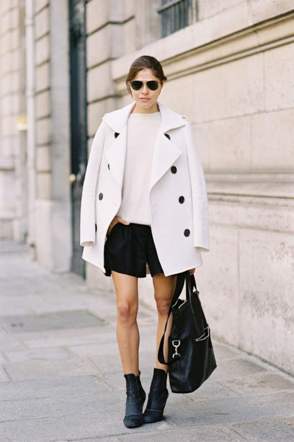 623 Paris Street Style: Jesen koju je obeležila bela boja