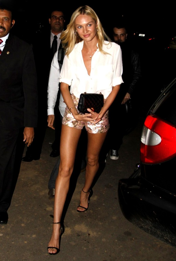 7.13 Street Style: Candice Swanepoel