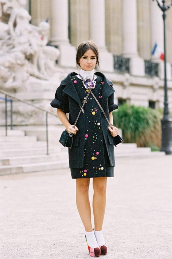 816 Paris Street Style: Jesen koju je obeležila bela boja