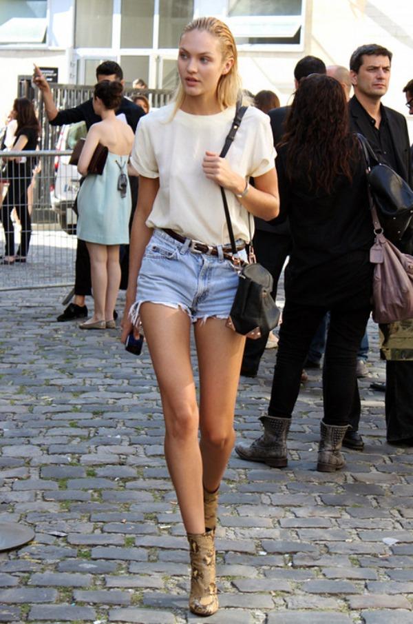 9.8 Street Style: Candice Swanepoel
