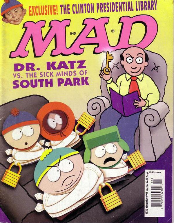 """Dr Katz SLIKA 2 Animirani petak: """"Dr Kac, profesionalni terapeut"""""""